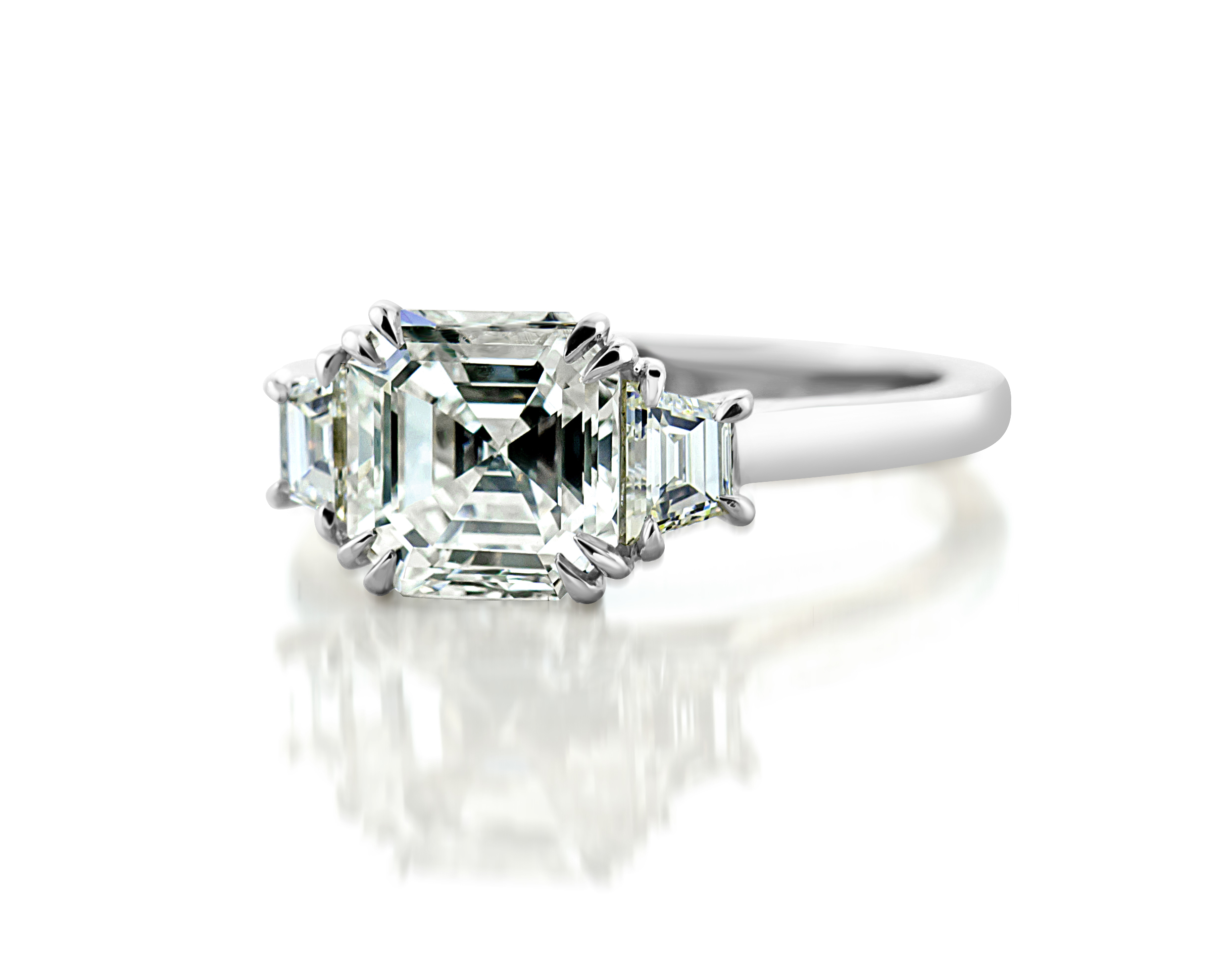 rings jewellery tiffany engagement asscher lovely cut of